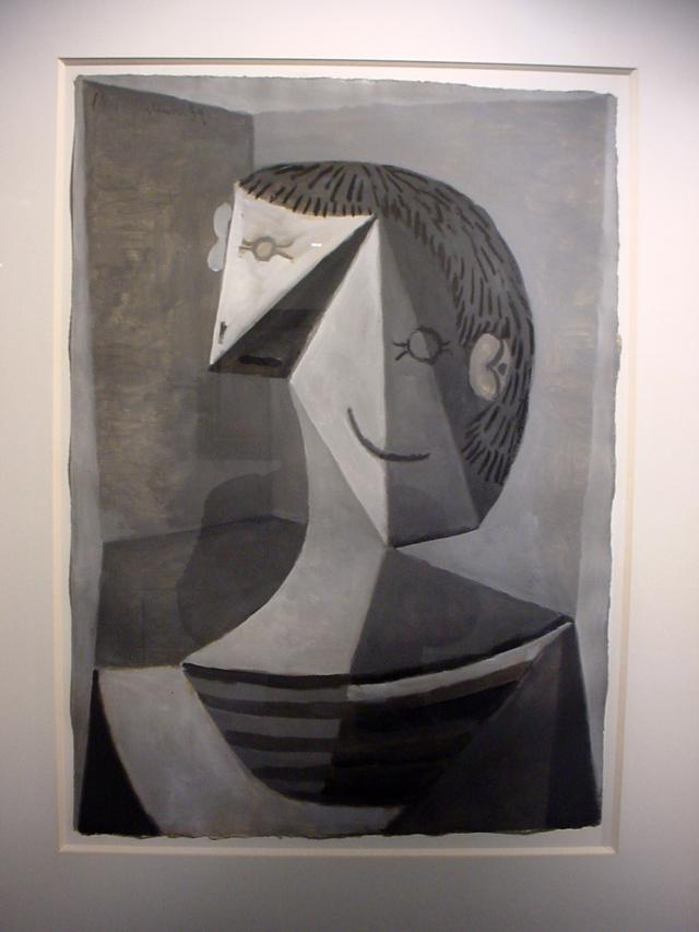 _Buste d'homme au tricot raye_ (1939) 64x46cm unsigned Zervos