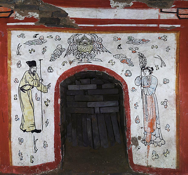 China Mural Tomb 6