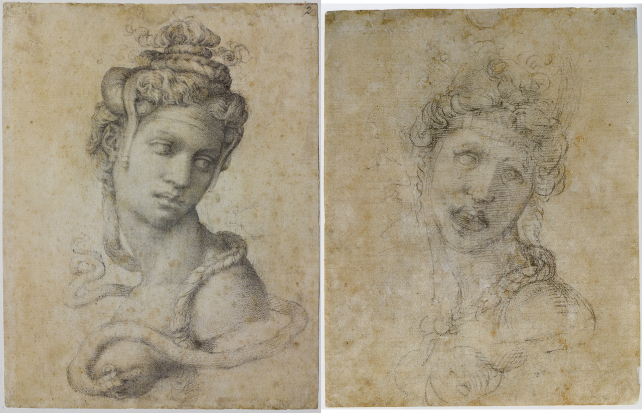 Michelangelo, Cleopatra front and back