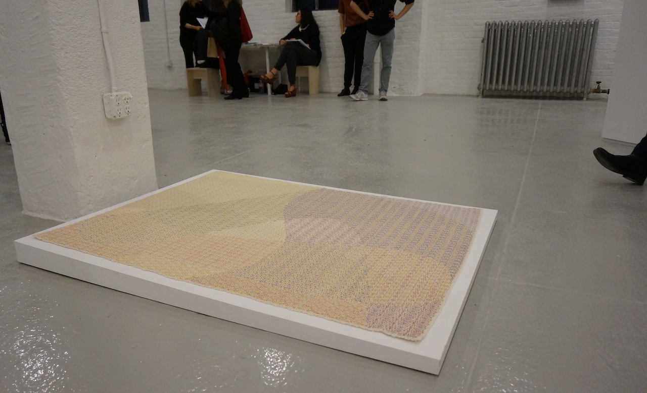 Work by Mark Barrow and Sarah Parke, at Elizabeth Dee