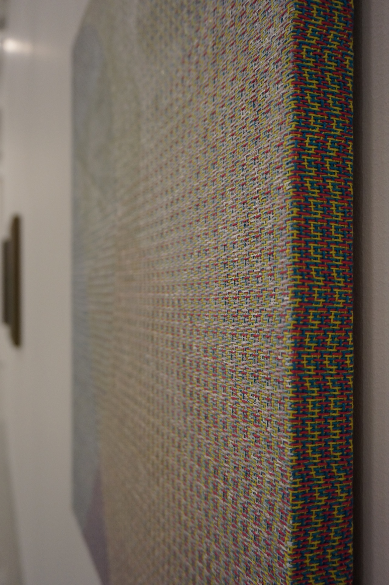 Detail of a work by Mark Barrow and Sarah Parke