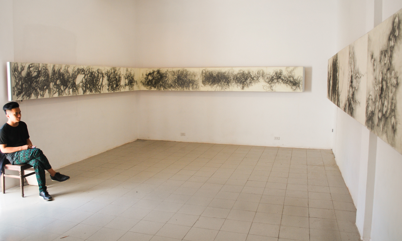 Gallery view of Nhà Sàn Collective. All photographs by the author.