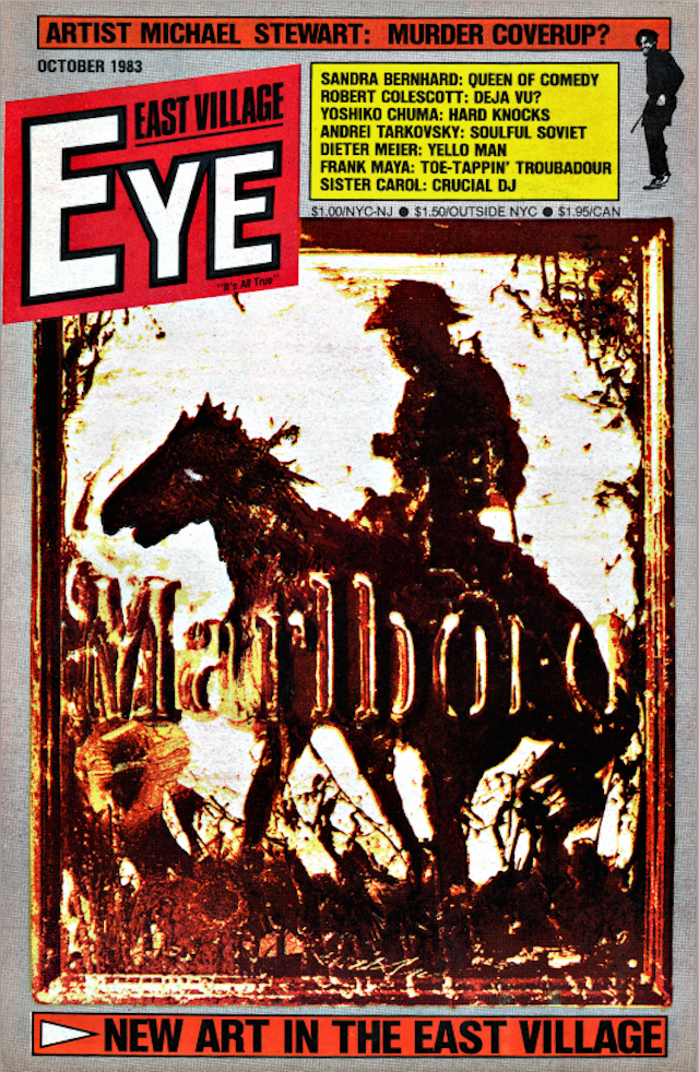 East Village Eye, October 1983
