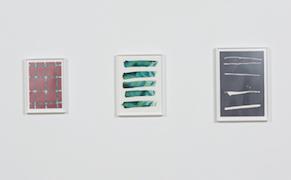 """Installation view, """"Rebecca Morris: Fantastic L.A."""