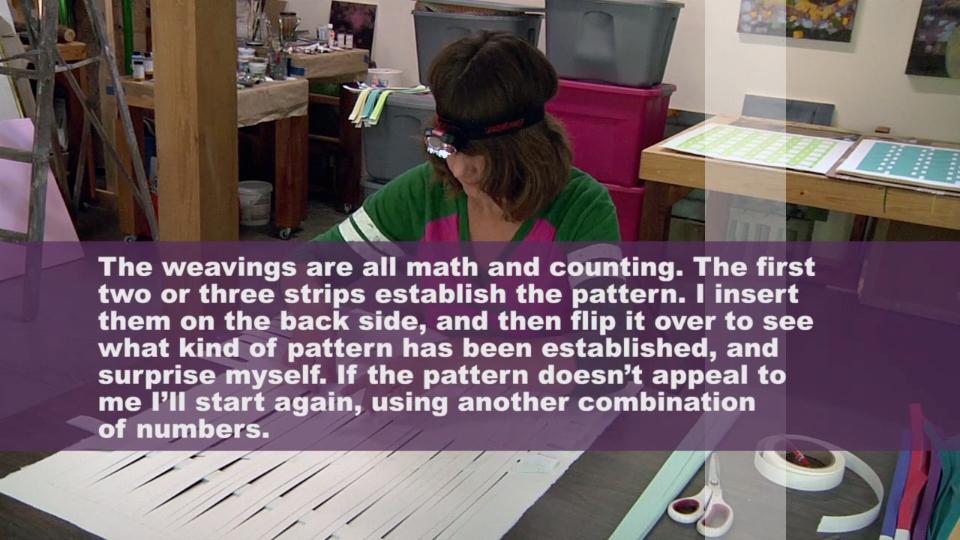 "Still from David Robbins, ""A few minutes with...Michelle Grabner"" (screenshot via Vimeo)"