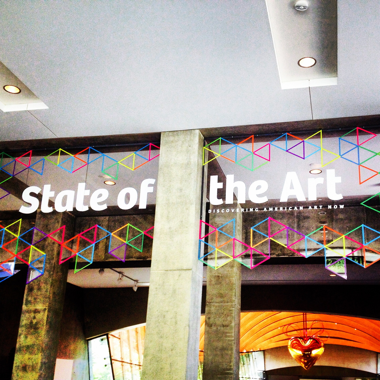 'State of the Art: Discovering American Art Now' at the Crystal Bridges Museum (all photos by the author for Hyperallergic unless otherwise noted)