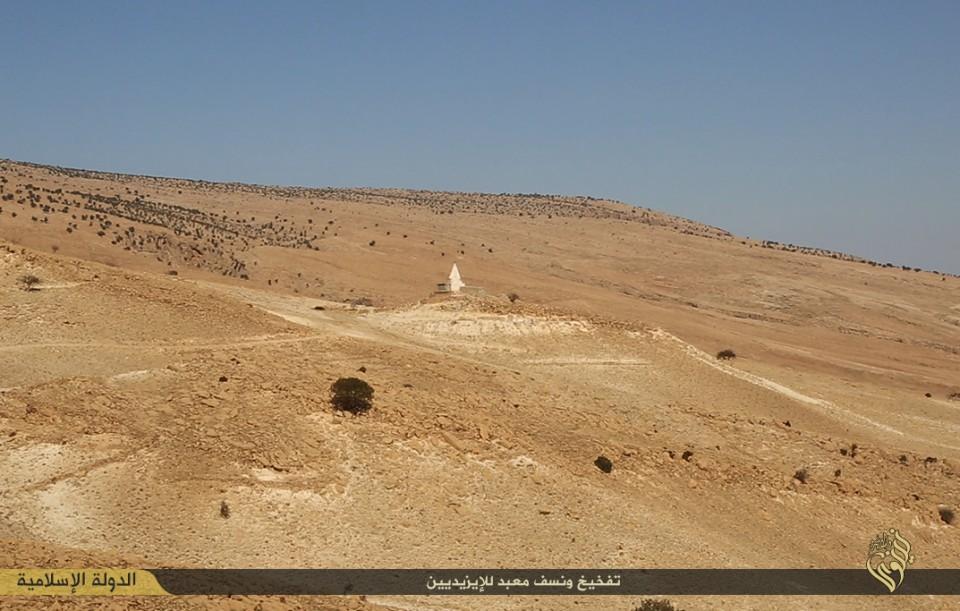 Islamic State, 2014, iraq sinjar meme reshan cultural heritage political violence 141029 a