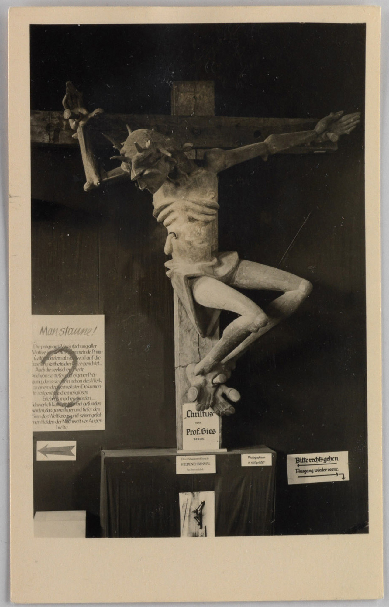 "an analysis of exhibition of degenerate art munich Entartete kunst: modern art and  the degenerate art exhibition at the neue galerie in  exhibit in munich, 1937 (36) ""degenerate art"" was most of all the."