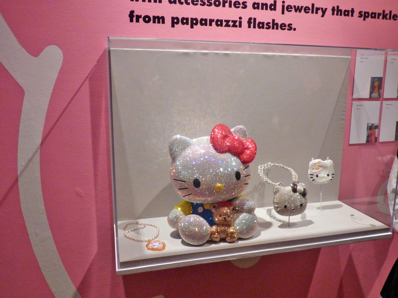 Swarovski Hello Kitty (click to enlarge)