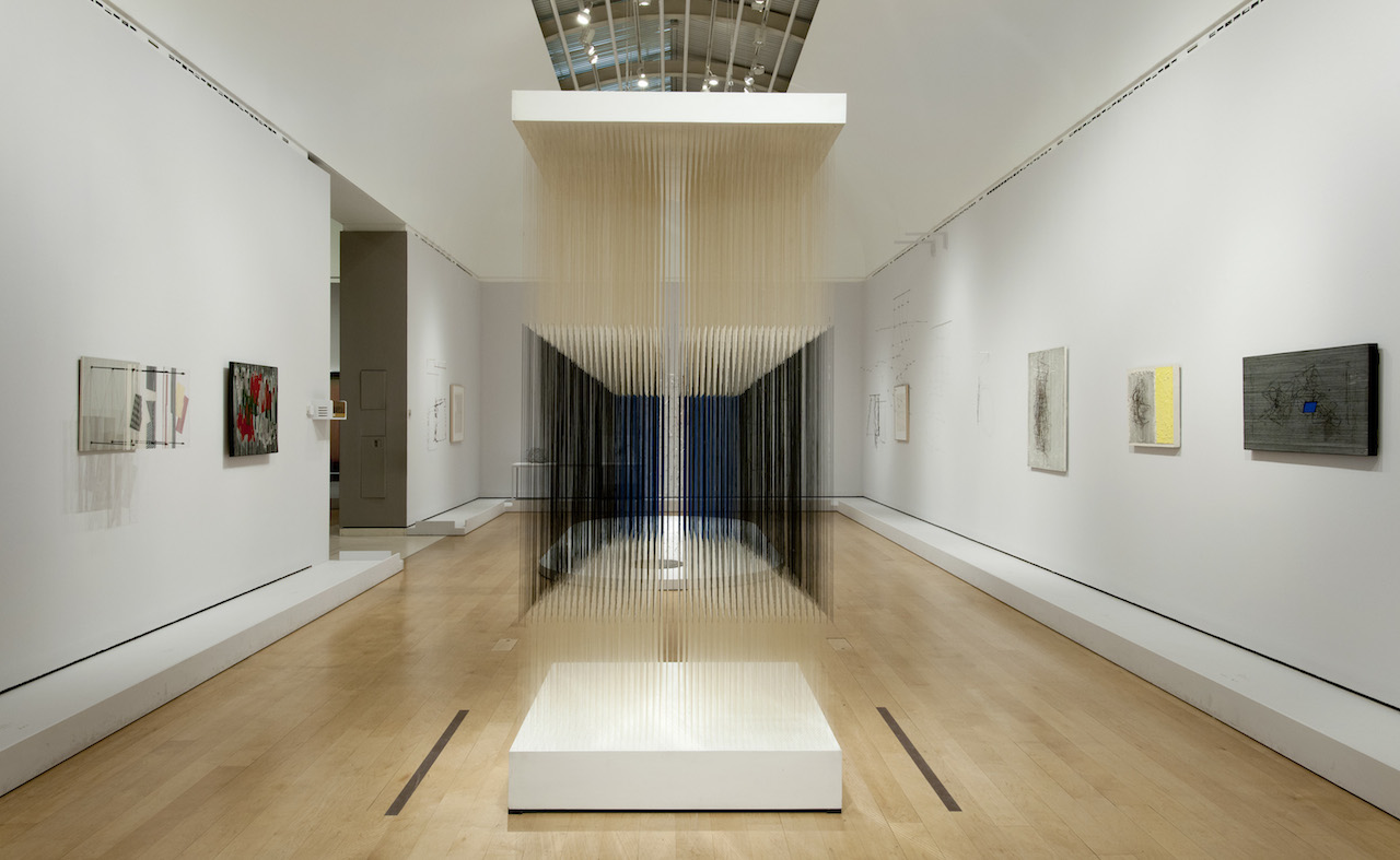 Installation view, 'Radical Geometry: Modern Art of South America from the Patricia Phelps de Cisneros Collection' at the Royal Academy of Arts, London
