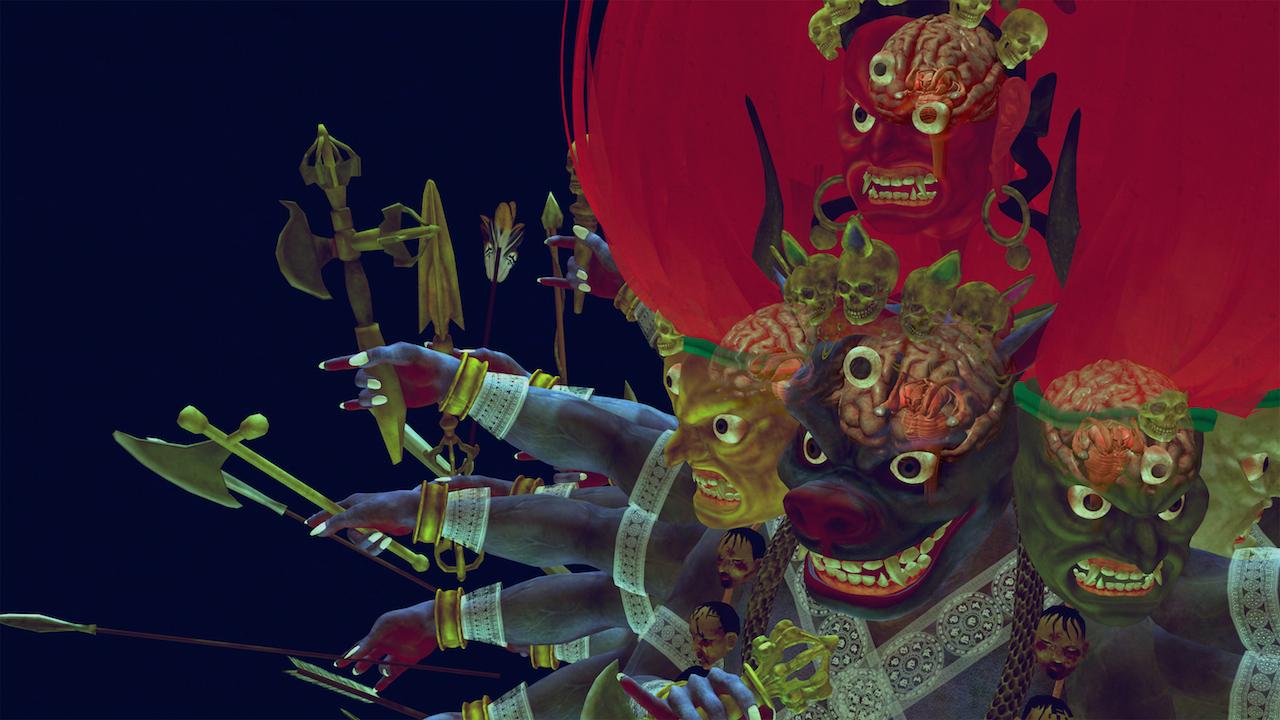 """Screenshot from """"Wrathful King Kong Core"""" (2011)"""