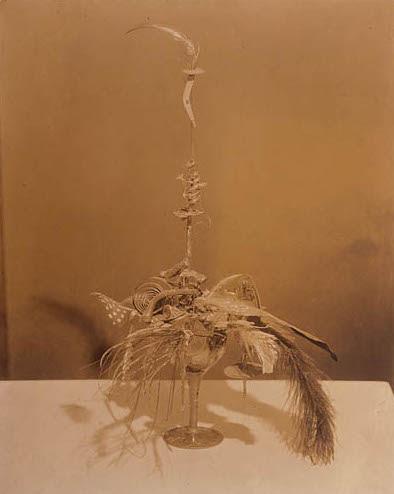 Charles Sheeler, The Baroness's Portrait of Marcel Duchamp, c. 1920 (via vsf.la)