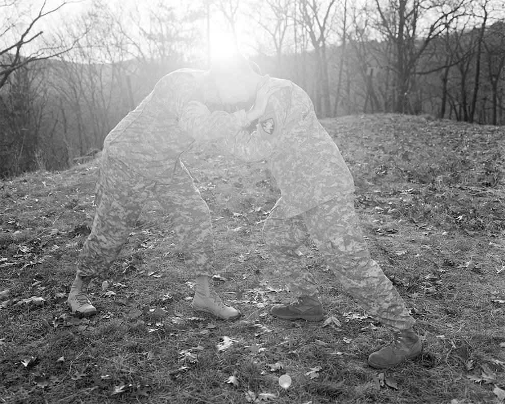 One of Kristine Potter's image from her The Grey Line series (image courtesy the artist)