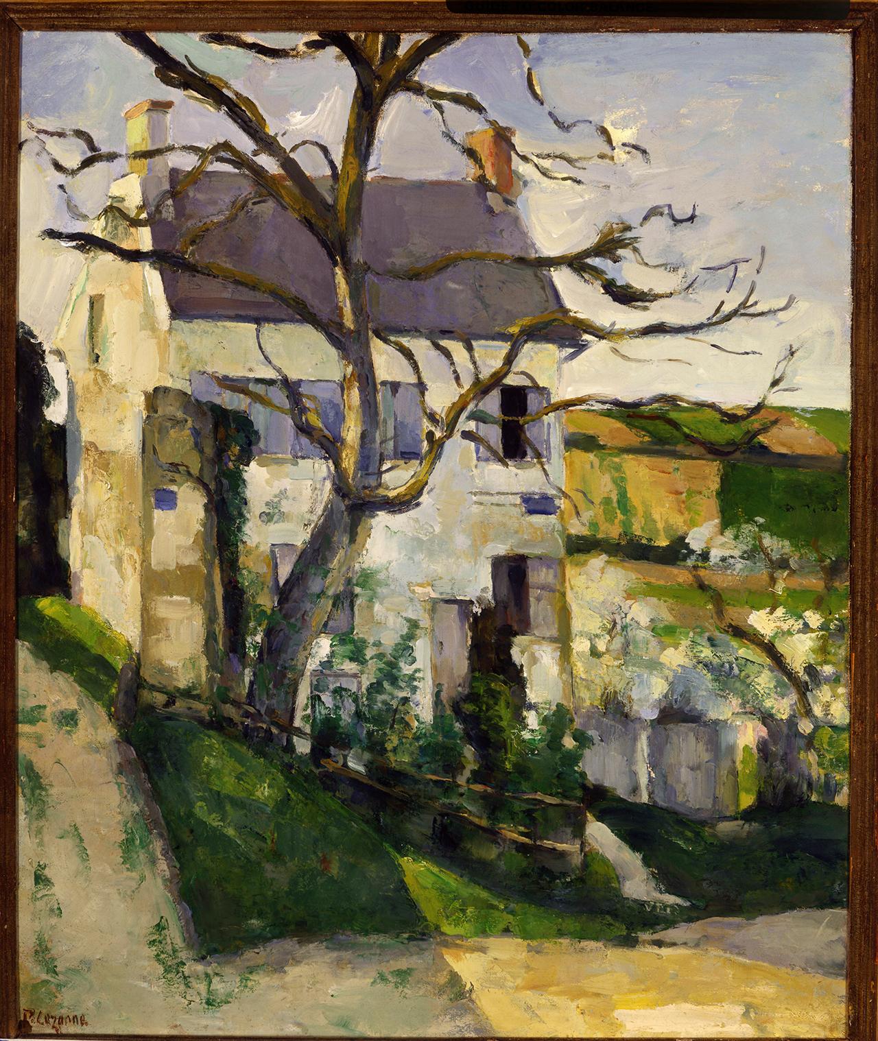 """Paul Cézanne, """"La Maison et l'arbre"""" (1874)"""