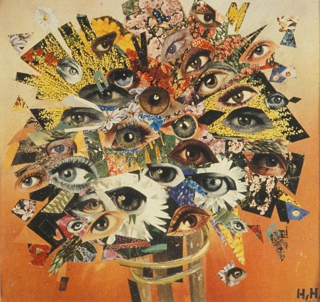 "Hannah Hoch, ""Bouquet of Eyes"" (1930)"