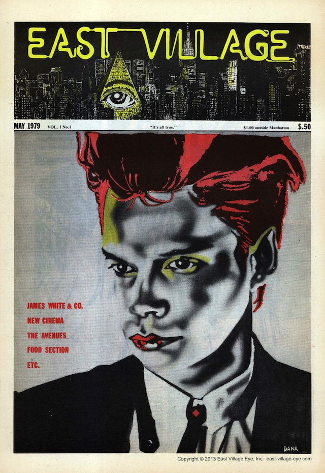 Issue one of the East Village Eye, March 1979