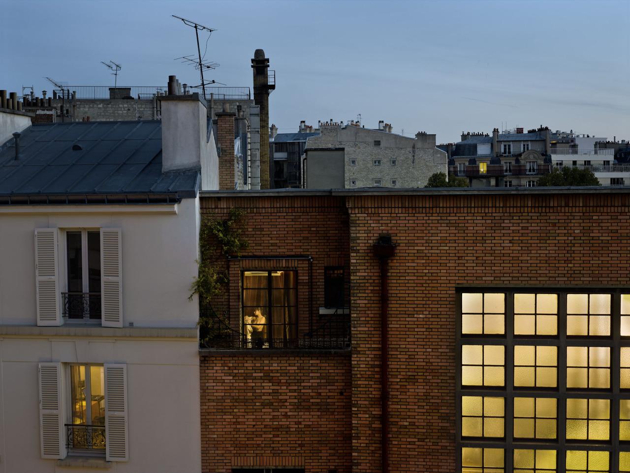 October 31, 2012, rue Du Guesclin-Paris-15