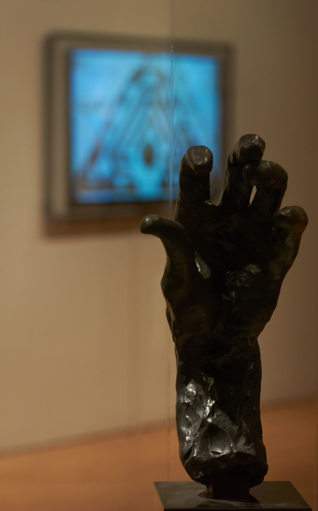 """Rodin, """"Grande main gauche (Left Hand of Burgher of Calais)"""" (click to enlarge)"""