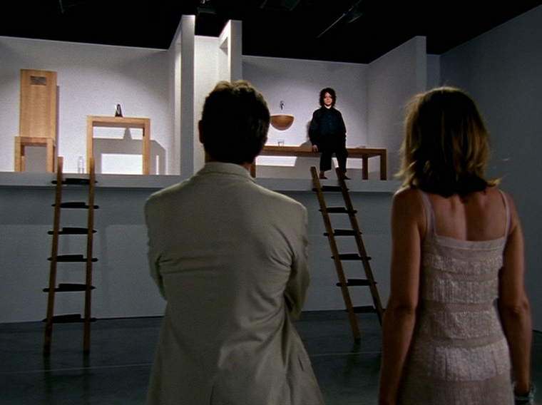 Abramović-ian performance art in a 'Sex in the City' episode