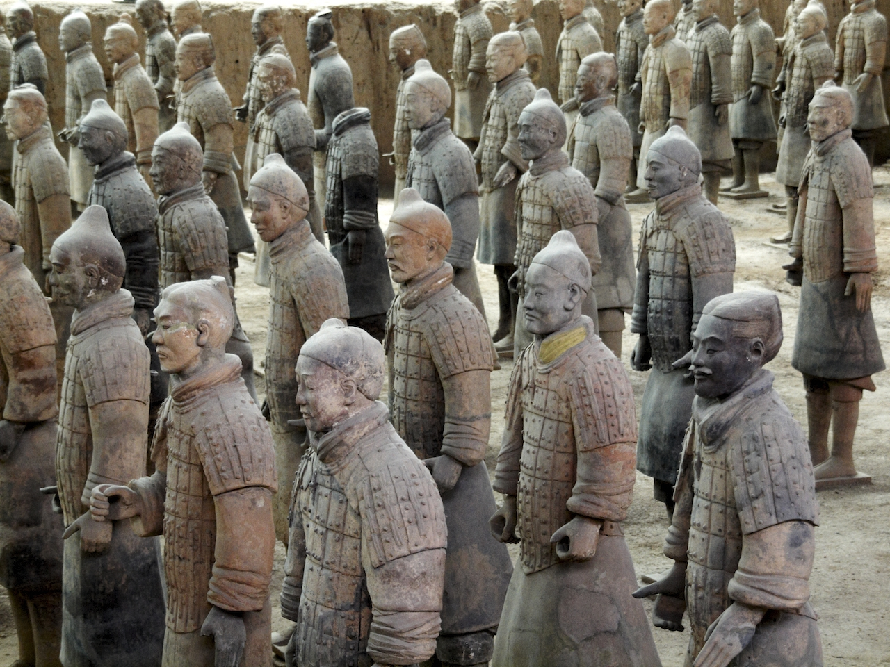 A Lost Purple Pigment, Where Quantum Physics and the Terracotta Warriors Collide