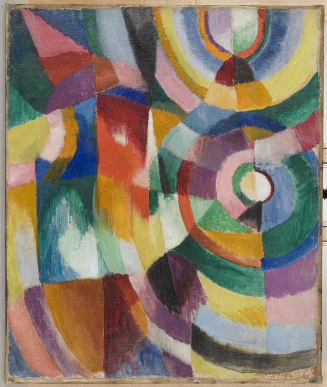 """Sonia Delaunay, """"Prismes électriques"""" (1913–1914)"""