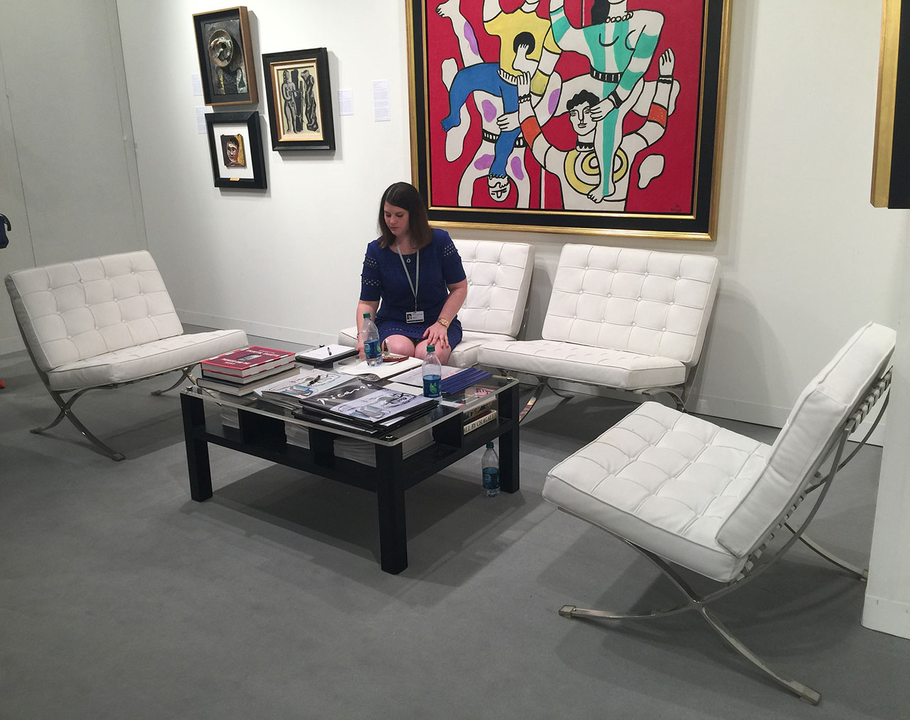 At New York's Hammer Galleries