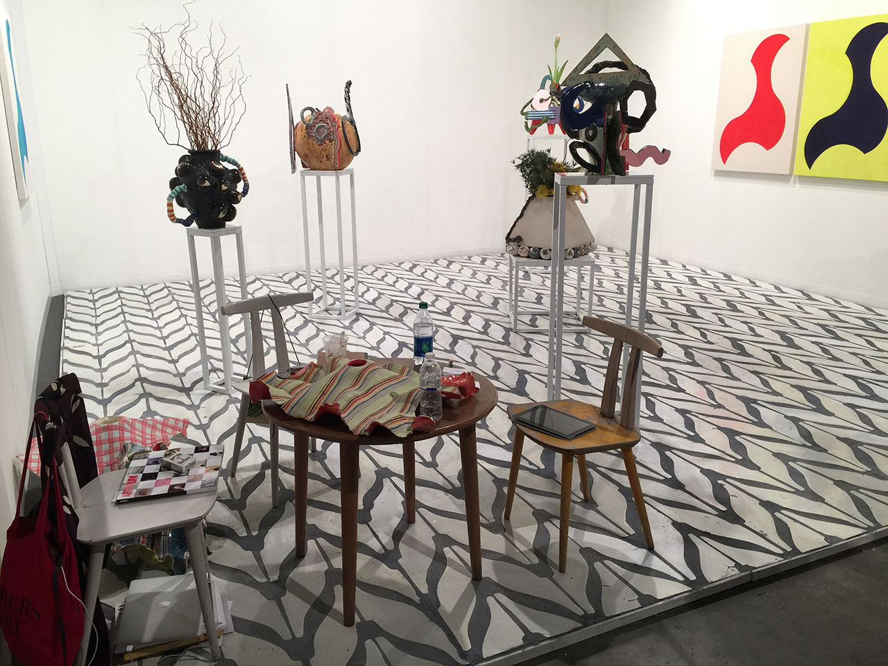 Travesia Cuatro gallery of Madrid and Guadalajara went the all-over approach