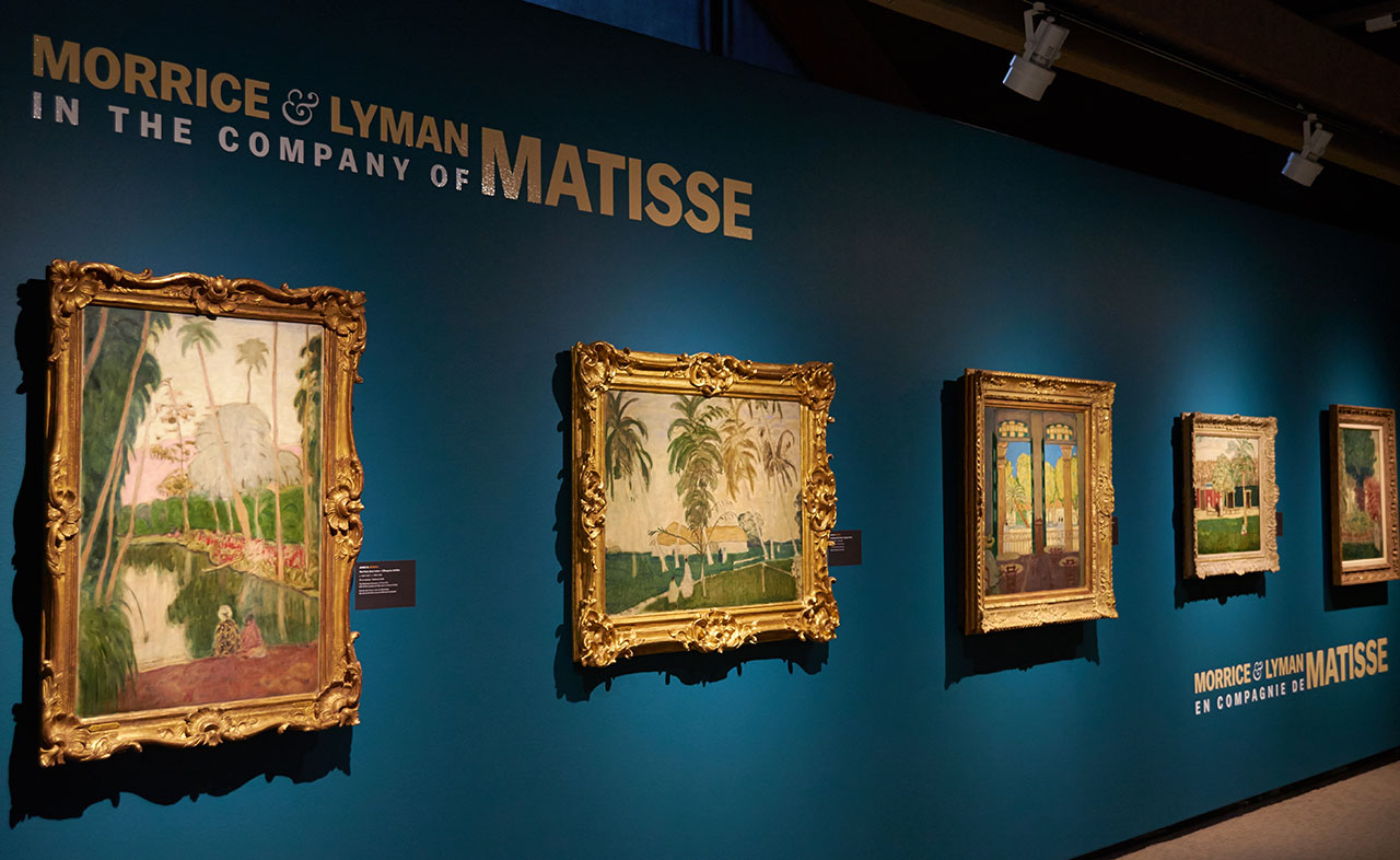 Installation view, 'Morrice and Lyman in the Company of Matisse' (photo by Veronika Roux-Vlachova)