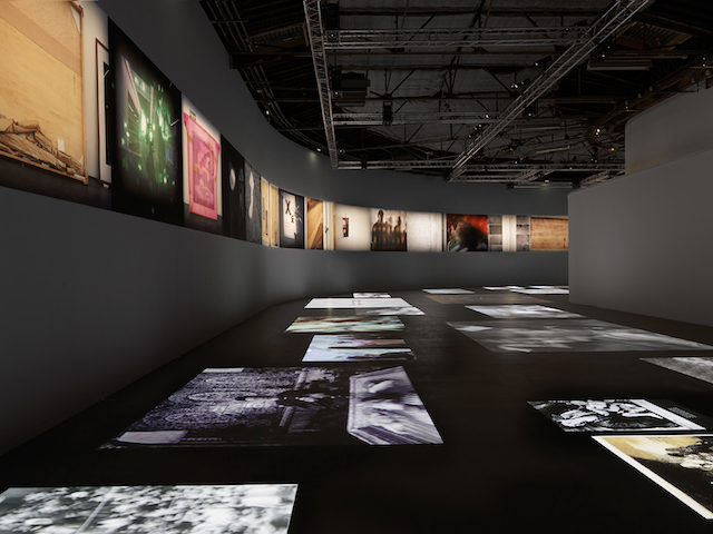 View of the Georges Didi-Huberman and Arno Gisinger show 'New Ghost Stories' (Nouvelles Histoires de fantômes) at Palais de Tokyo, Paris ​(photo by André Morin)