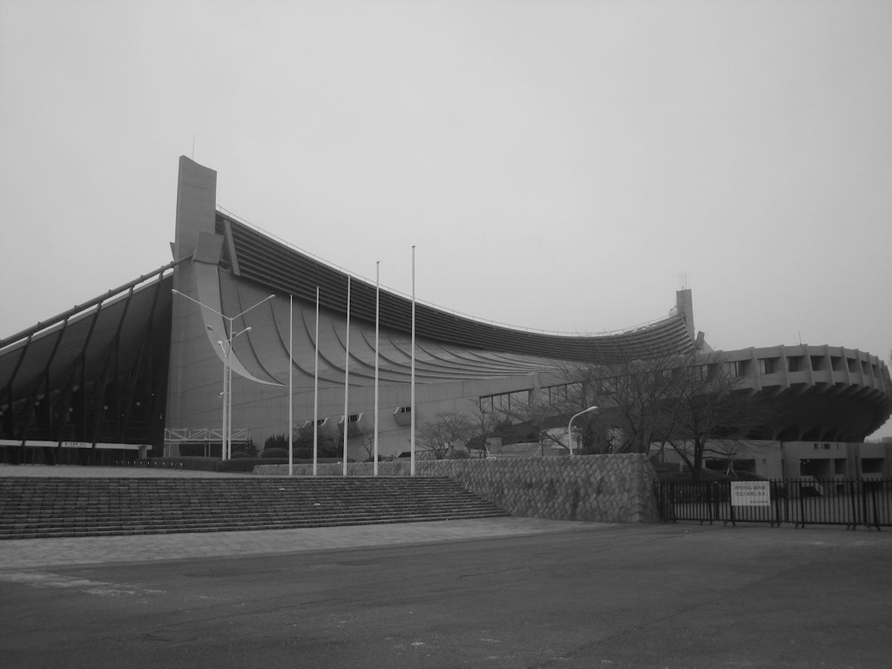 Tokyo's 1964 Olympic Stadium (Image via Dom Pates/Flickr)
