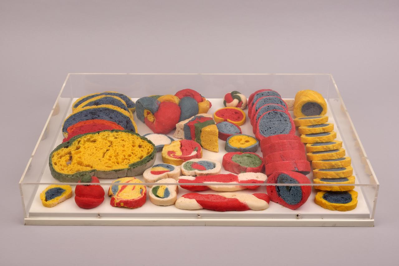 Miralda et Dorothée Selz, Traiteurs Coloristes, 1968 / Collection Mina et Jacques Charles © ADAGP-Paris 2014, Ph.Nicolas Fussler