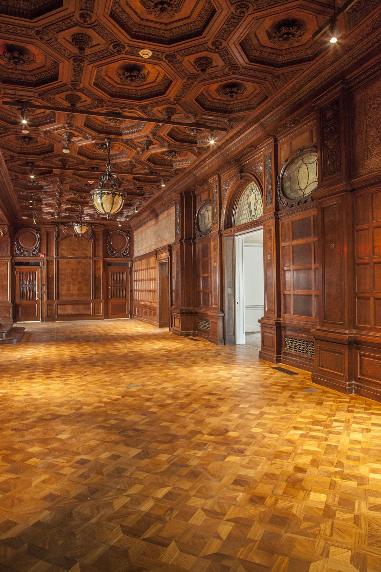 Cooper Hewitt, Smithsonian Design Museum, Great Hall (photo by James Rudnick, © 2014 Cooper Hewitt, Smithsonian Design Museum)