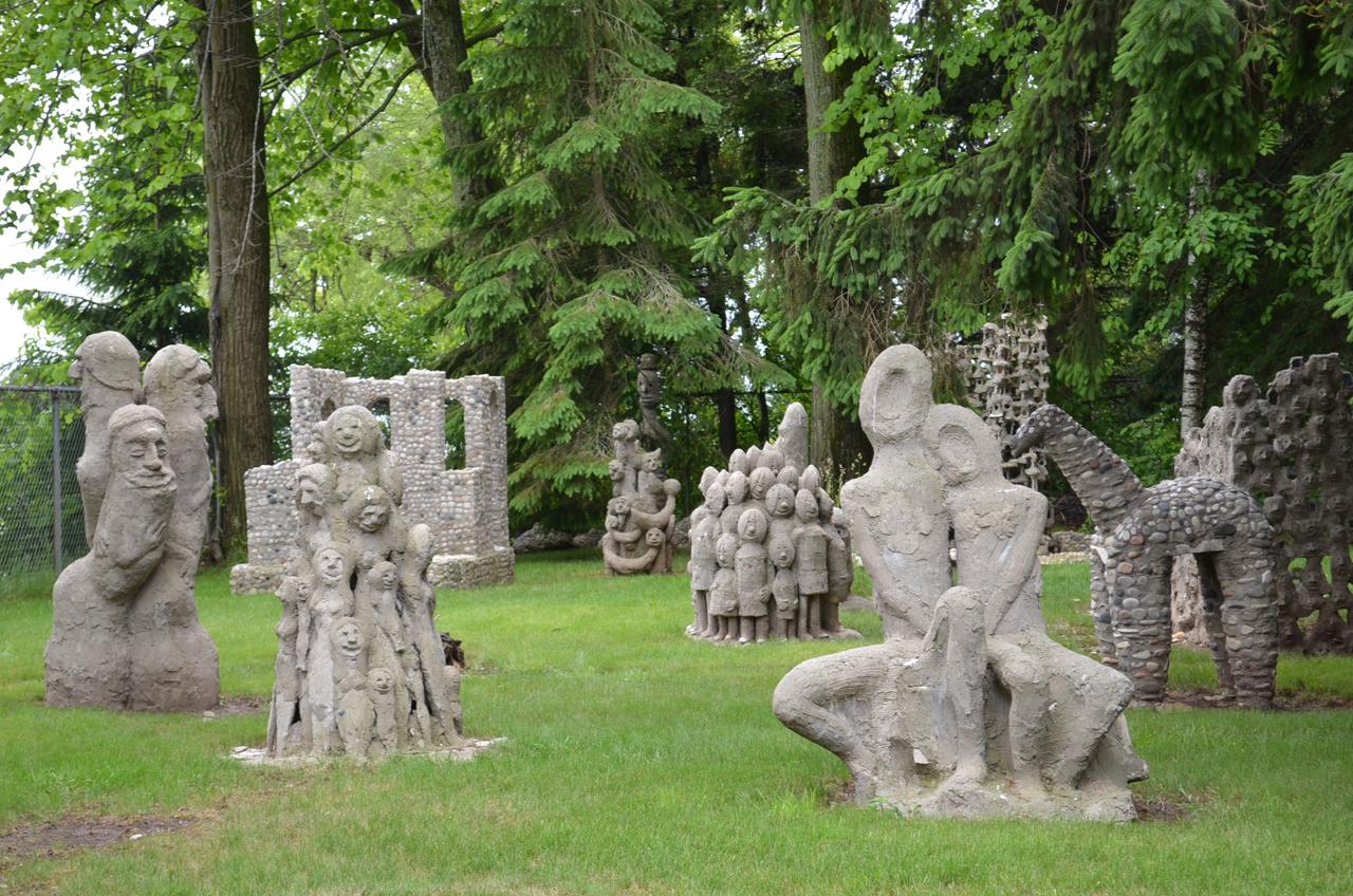 Nohl's sculptures