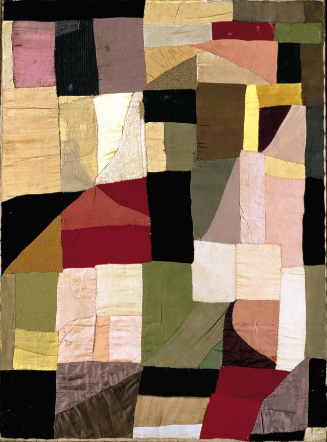 """Sonia Delaunay, """"Couverture de Berceau"""" (1911)"""