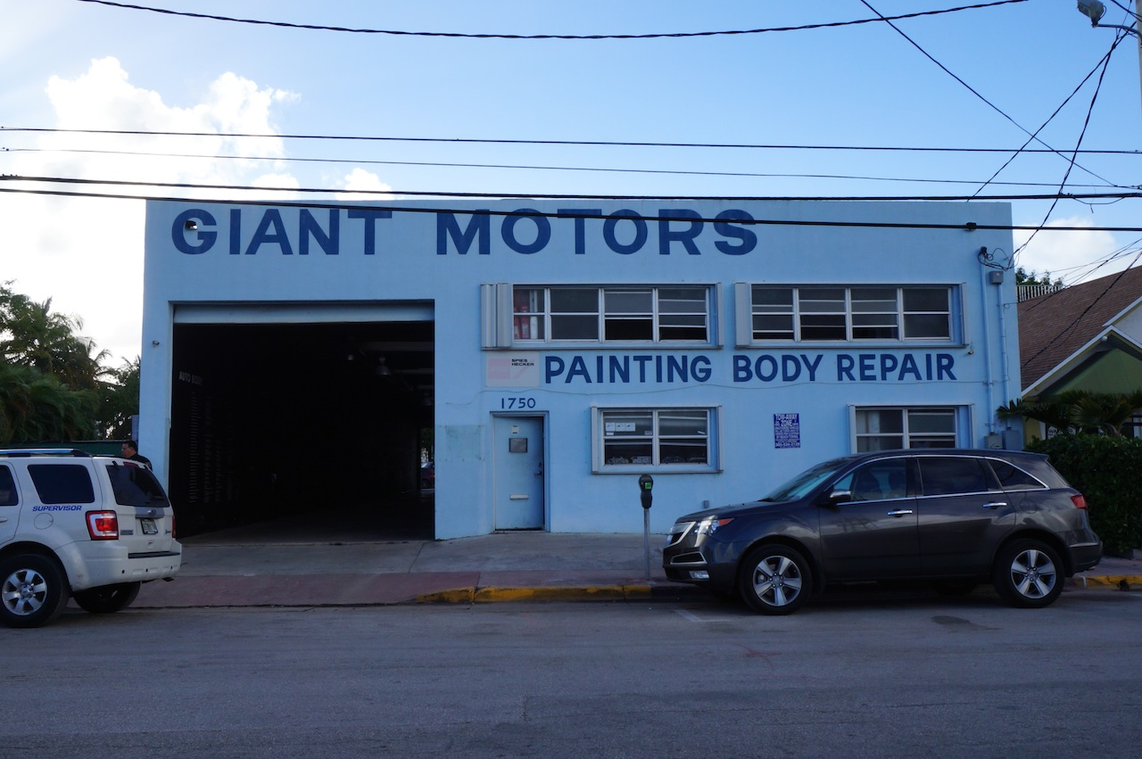 The former auto body shop that's currently housing 'Auto Body'