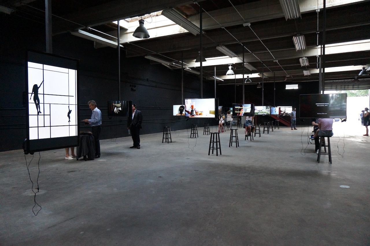 Installation view, 'Auto Body,' with TK TK in the left