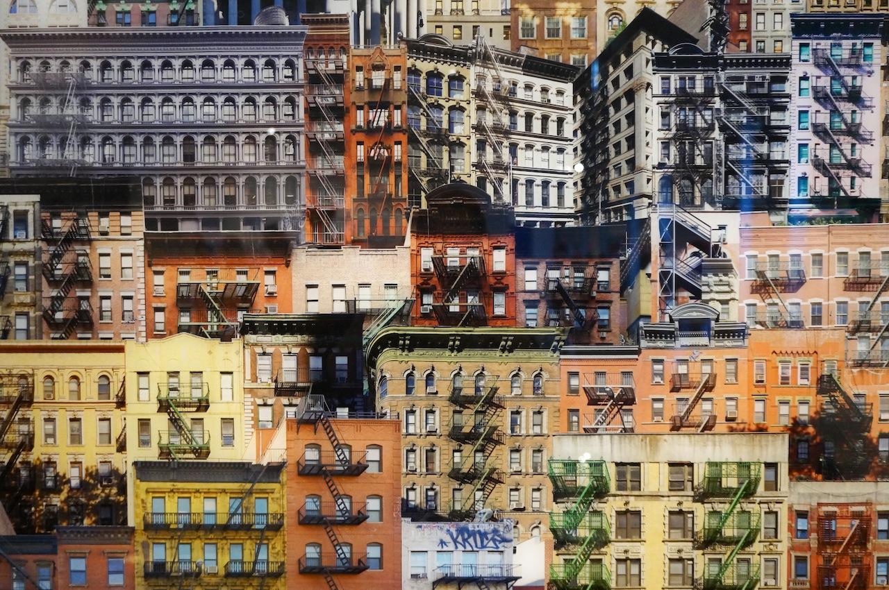 "Jean-François Rauzier, ""Lower East Side Veduta"" (detail)"