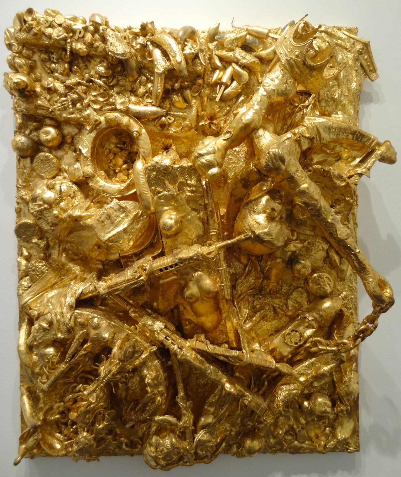 """John Miller, """"The Young and the Restless"""" (2008) in 'GOLD' at the Bass Museum of Art"""