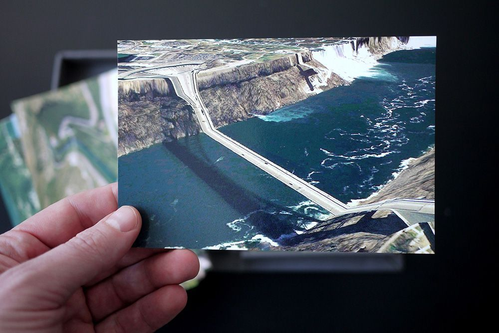 Clement Valla, Postcards from Google Earth (2012)