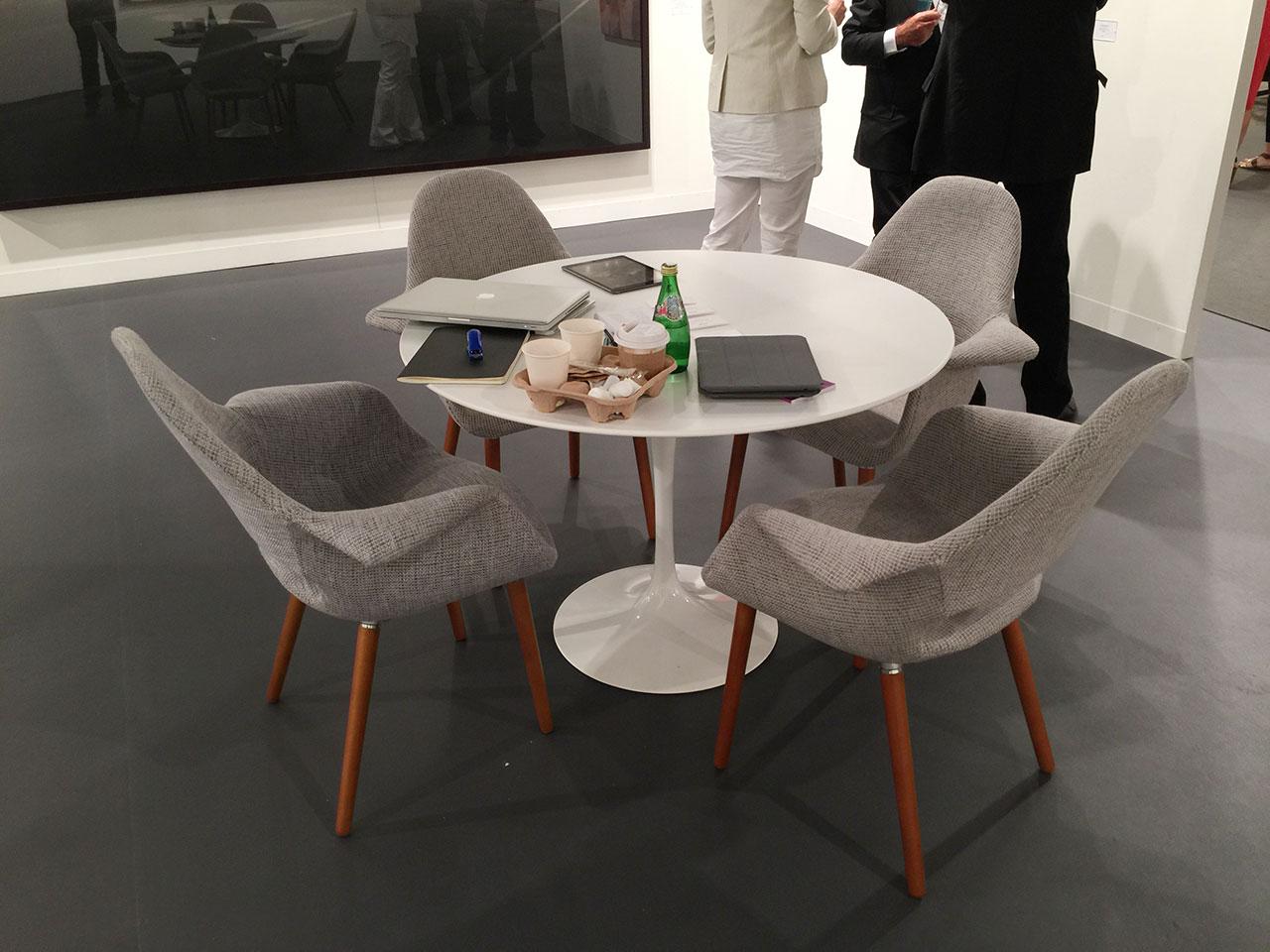 At New York's Petzel Gallery
