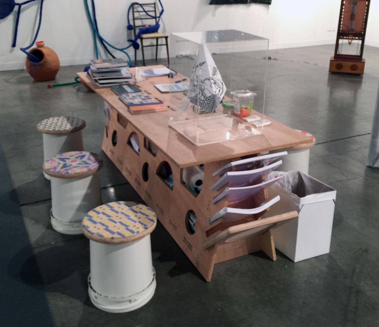 A practical set up at Rio de Janeiro's A Gentil Carioca