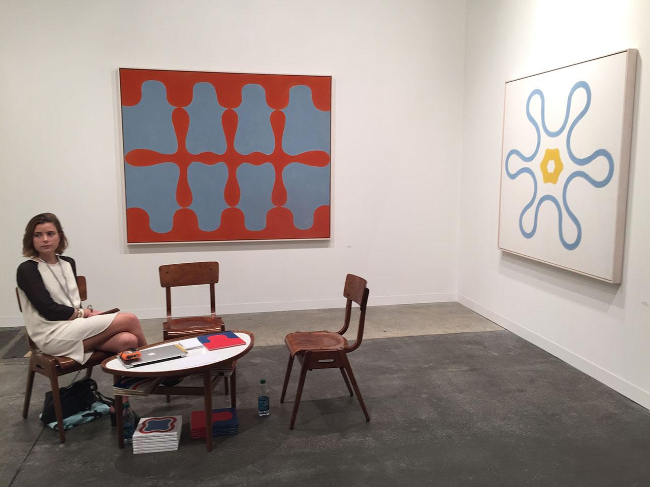 At Garth Greenan Gallery of NYC
