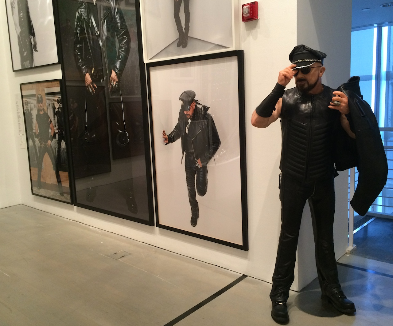 Installation view of 'One Way: Peter Marino' at the Bass Museum of Art
