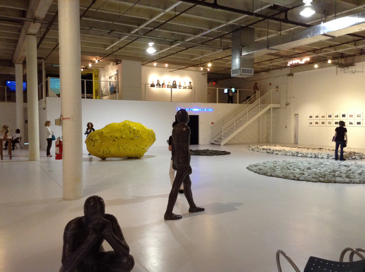 Installation view, the Margulies Collection at the Warehouse (all photos by the author for Hyperallergic)