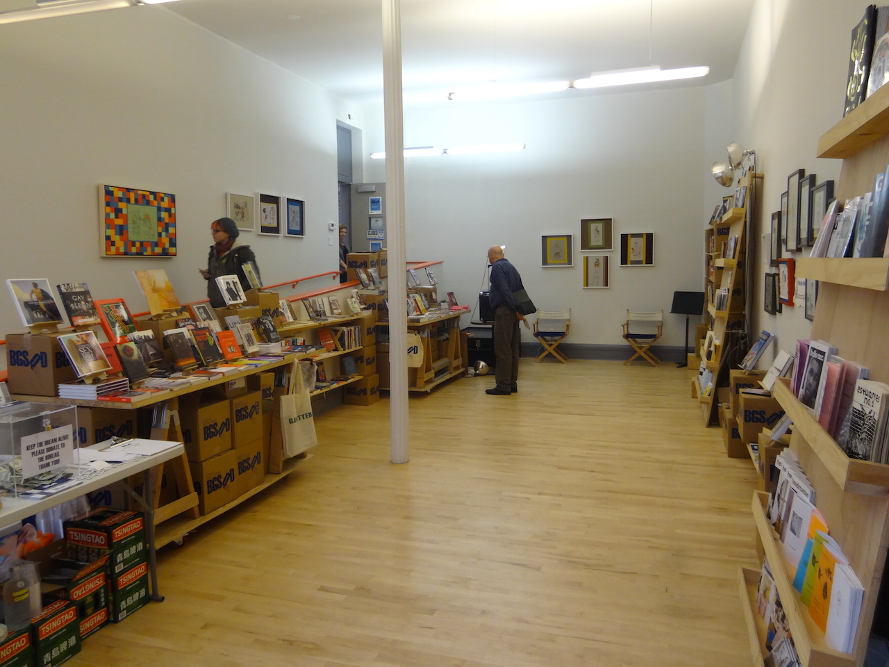 The Bureau for General Services – Queer Division bookstore at the LGBT Center