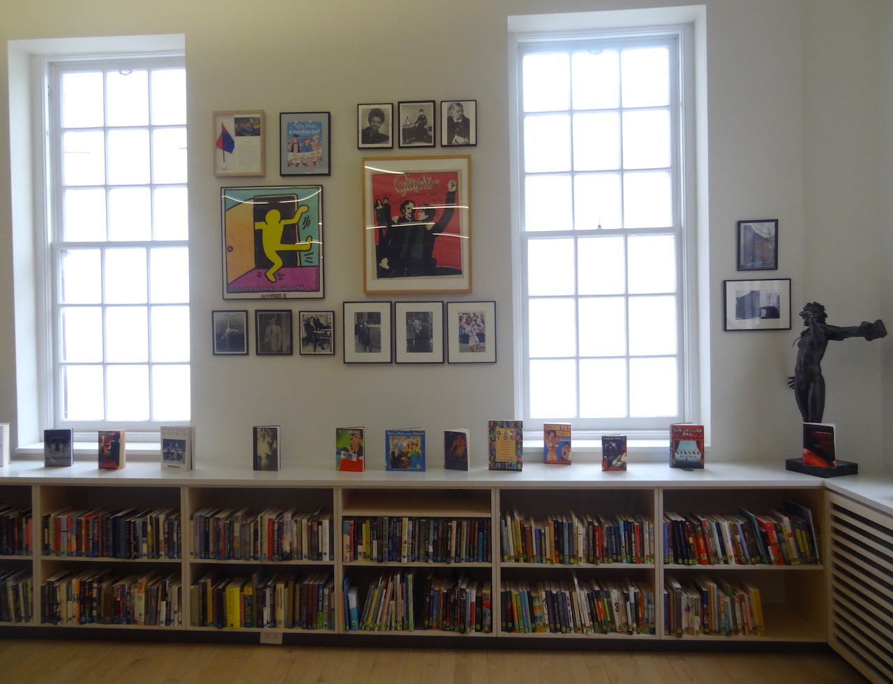 The Pat Parker/Vito Russo Center Library and The Center's National History Archive on the LGBT's fourth floor