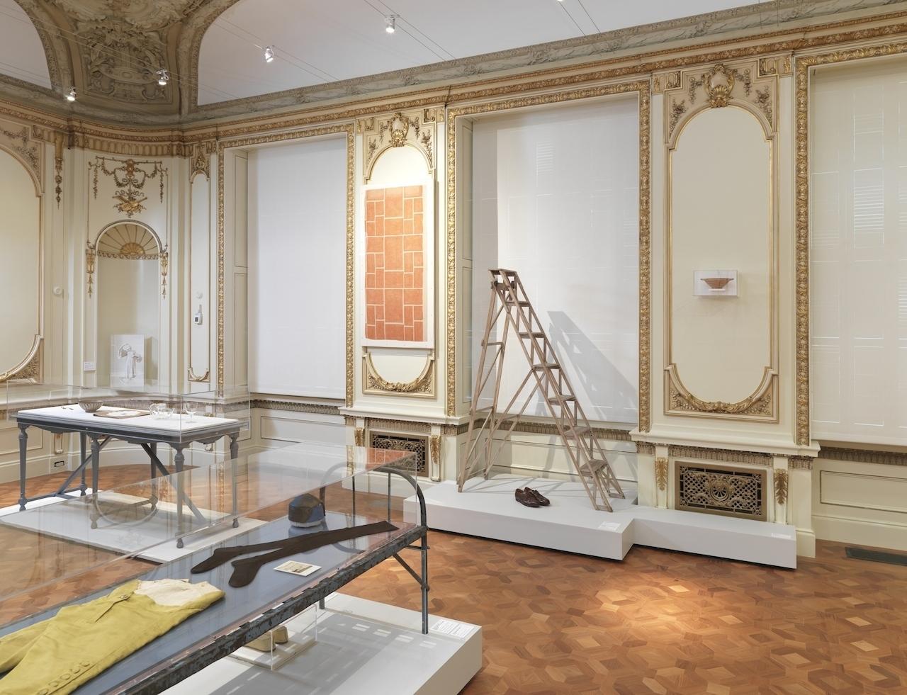 """Installation view: """"Maira Kalman Selects."""" Photo: Matt Flynn © 2014 Cooper Hewitt, Smithsonian Design Museum"""