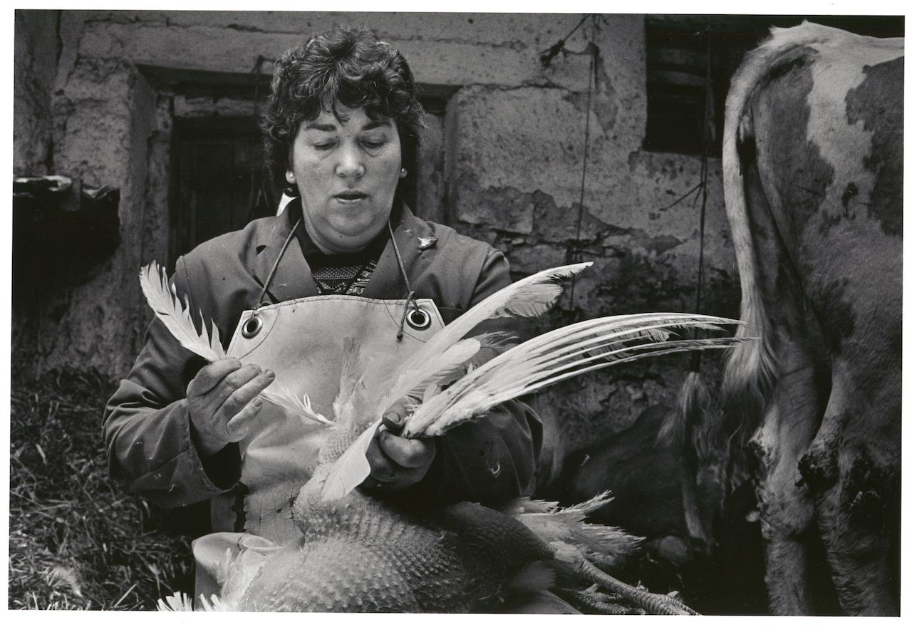 Monique Jacot, Boncourt 1987, Silbergelatineabzug, © Monique Jacot / Fotostiftung Schweiz, Winterthur