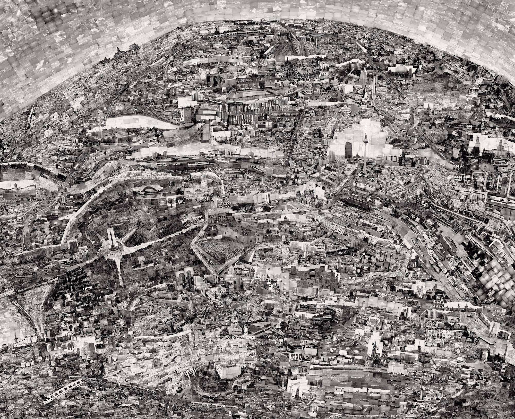 """Diorama Map Berlin"" (2012) by Sohei Nishino (Image courtesy of Michael Hoppen Gallery)"