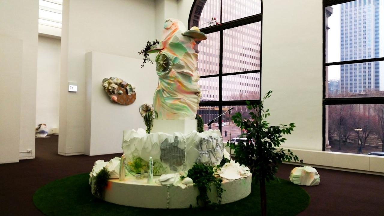 Sabina Ott, 'Purgatorio,' mixed-media installation